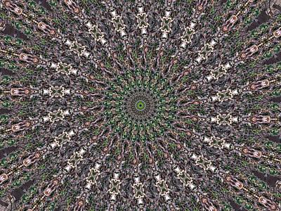 Digital Art - Forest Mandala 2 by Rhonda Barrett