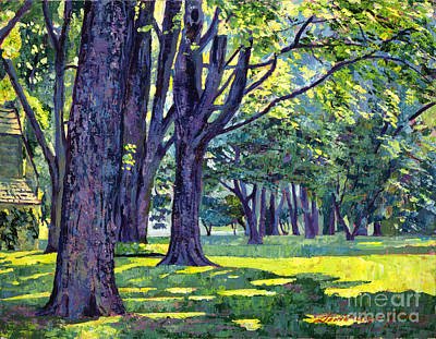 Painting - Forest Of My Dreams by David Lloyd Glover
