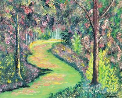 Forest Path Art Print by James McNamee