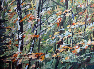 Painting - Forest Song by Synnove Pettersen