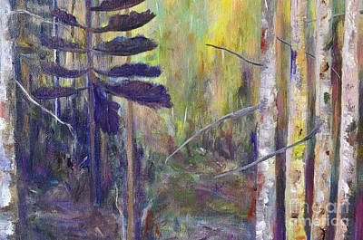 Painting - Forest Wonders by Claire Bull
