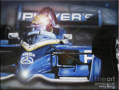 Indy Car Painting - Forever Moore by Gordon Paterson