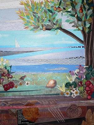 Pear Tree Mixed Media - Forever by Wendy Cloutier Solhan