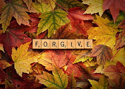 Photograph - Forgive-autumn by  Onyonet  Photo Studios