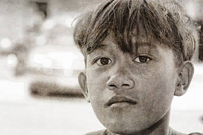 Forgotten Faces 16 Print by Skip Nall