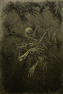 Forgotten Art Print by Maciej Kamuda