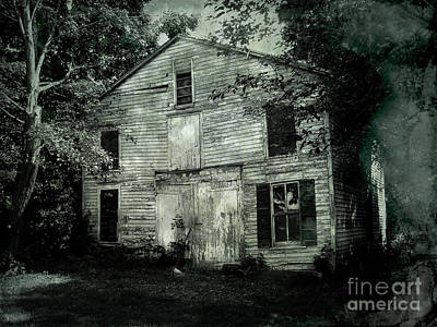 Manipulation Photograph - Forgotten Past by Colleen Kammerer