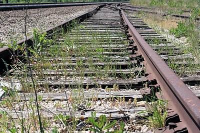 Photograph - Forgotten Rail by Lynnette Johns