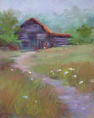 Pastel - Forgotten Treasure by Karen Margulis