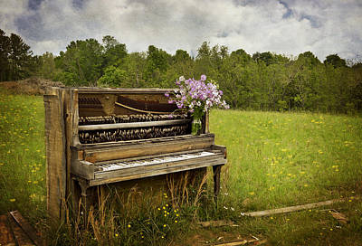 Forgotten Tunes Art Print by Kathy Jennings