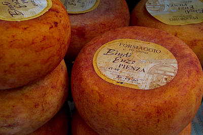 Photograph - Formaggio Cheese Of Italy by Roger Mullenhour