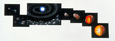 Accreting Photograph - Formation Of Earth by Gary Hincks