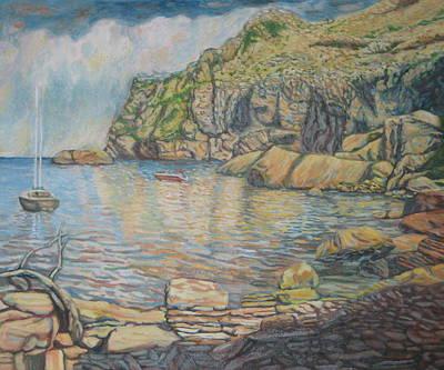 Formentor's Cove Art Print