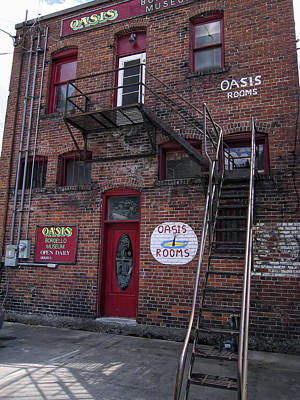 Prostitution Photograph - Former Oasis Bordello In Wallace Idaho Mining Town by Daniel Hagerman