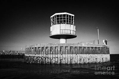 Radio Control Photograph - Former Radio Control Tower At The Entrance To Carrickfergus Harbour County Antrim  by Joe Fox