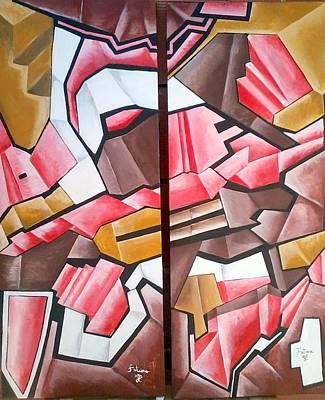 Fatima Painting - Forms by Fatima Hameurlaine
