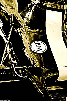Art Print featuring the photograph Formula 5000 by Michael Nowotny
