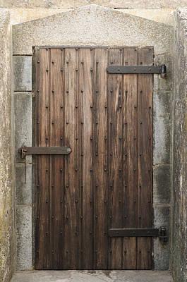 Photograph - Fort Door Circa 1860 by Bradford Martin