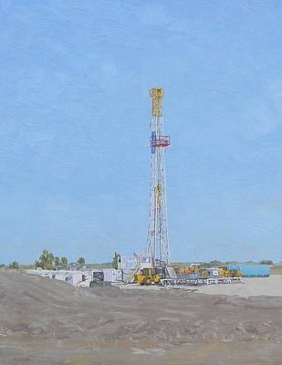 Donny Painting - Fort Drilling 5 by Galen Cox