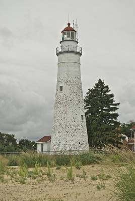 Port Huron Photograph - Fort Gratiot Lighthouse by Michael Peychich