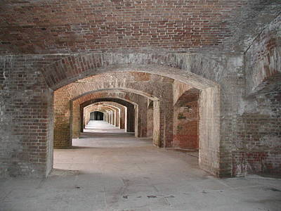 Photograph - Fort Jefferson by Nancy Taylor