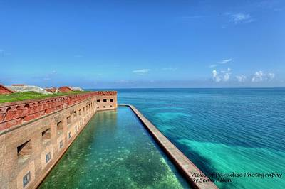 Fort Jefferson Art Print by Sean Allen