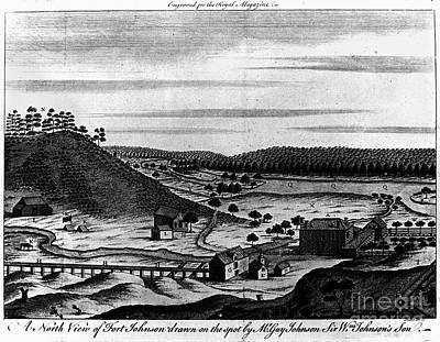 Fort Johnson, C1760 Art Print