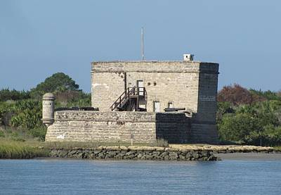 Photograph - Fort Matanzas National Monument by Keith Stokes
