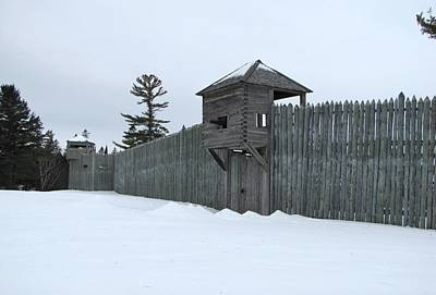 Photograph - Fort Michilimackinac Land Gate by Keith Stokes