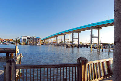 Fort Myers Bridge Art Print