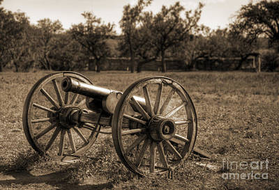 Photograph - Fort Phantom Hill Cannon by Fred Lassmann