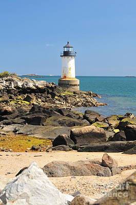 Fort Pickering Lighthouse Art Print by Catherine Reusch Daley
