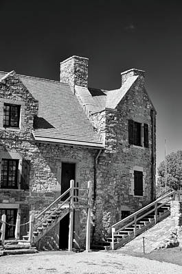 Photograph - Fort Ticonderoga 8695 by Guy Whiteley