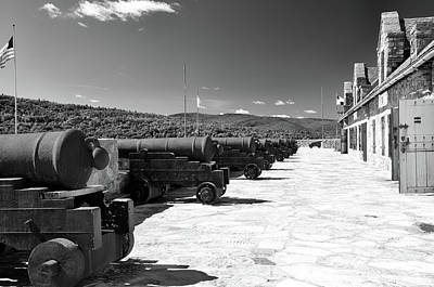 Photograph - Fort Ticonderoga 8735 by Guy Whiteley