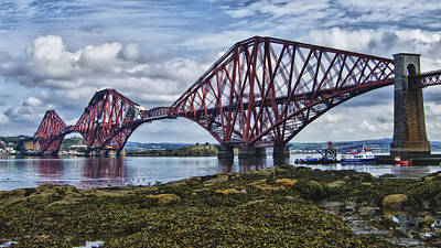 Photograph - Forth Bridge In Scotland by Zoe Ferrie