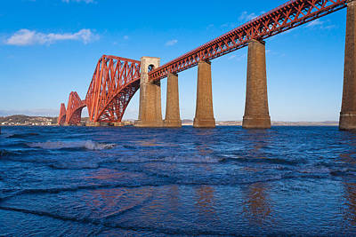 Forth Rail Bridge Art Print by Gary Finnigan