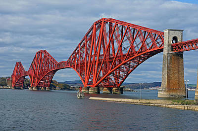 Photograph - Forth Rail Bridge by Rod Jones