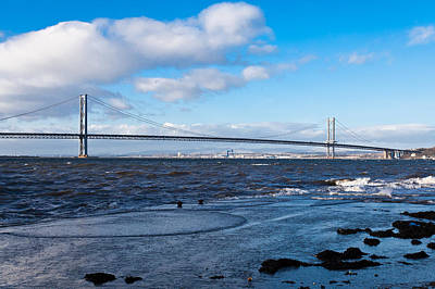 Forth Road Bridge Art Print by Gary Finnigan