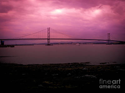 Forth Road Bridge Art Print