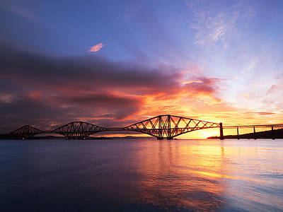 Forth Sunrise Art Print by Keith Thorburn LRPS AFIAP CPAGB