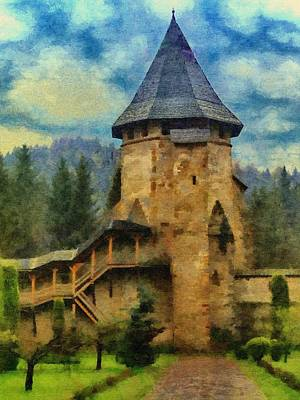 Painting - Fortified Faith by Jeff Kolker