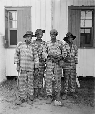 Jim Crow South Photograph - Four African American Youths by Everett