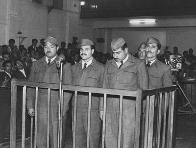 Accused Photograph - Four Iraqi Airmen On Trial For Taking by Everett