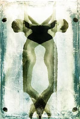 Four Of Spades Art Print by Andrea Barbieri
