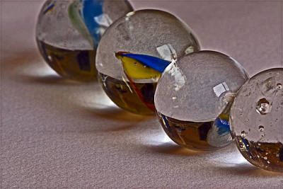 Photograph - Four Orbs by Bill Owen