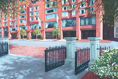Four Seasons Hotel Art Print by Laura DeDonato