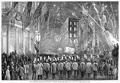 Fourth Of July, 1876 Art Print by Granger