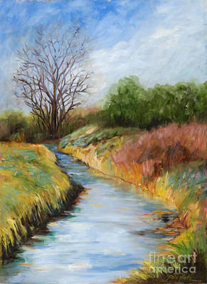 Painting - Fourth Street Canal by Pati Pelz