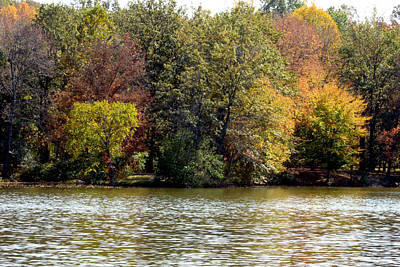 Fowler Lake 4 Art Print by Franklin Conour