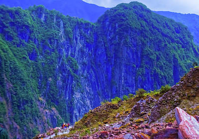 Photograph - Fox Glacier Gorge by Harry Strharsky